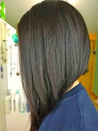 uneven bob for thick hair short hairstyles for thick hair back view inverted bob hairstyles