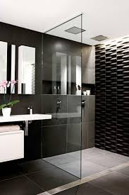 White Bathroom Tile by 25 Best Black Wall Tiles Ideas On Pinterest Kitchen Wall Tiles