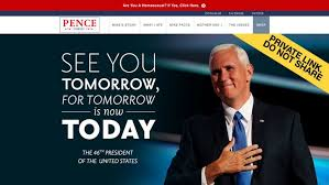 Website Meme - no mike pence s website wasn t hacked know your meme