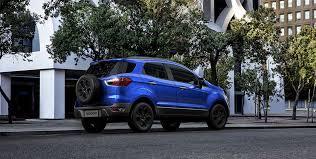 brazilian spec 2018 ford ecosport facelift rear three quarters