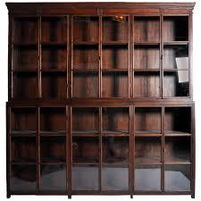 bookcase with glass doors melbourne portofino home montreal open
