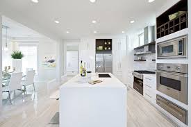 white washed wood flooring kitchen contemporary with floating
