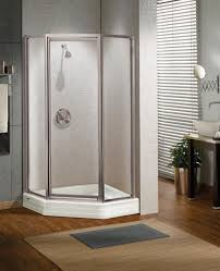 Maax Shower Door Maax 36x36 Silhouette Plus Neo Angle Framed Pivot Shower Door
