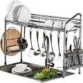 Image result for steel rack kitchen B01KKG23SK