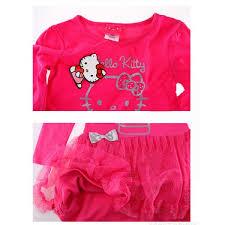 infantil kitty manga preto rosa