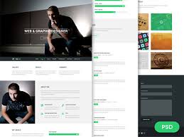 Resume Psd Template 20 Top Notch Free Psd Website Templates With Amazing Premium Designs