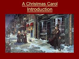 a christmas carol introduction what do you usually do at