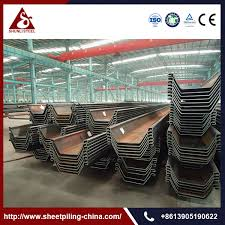 Steel Sheet Piling Cost Estimate by Sheet Piling Prices Sheet Piling Prices Suppliers And