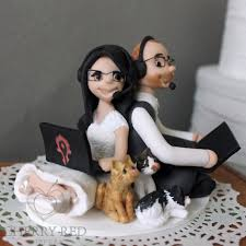 gamer cake topper misfit wedding gamer wedding cake toppers custom made by cherry