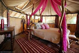 Elephant Bedroom Decor One Of Our Tents U0027s Interior Picture By David Bebber Elephant