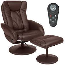 Recliner With Ottoman Leather Glider Recliner Ottoman