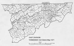 Middle Tennessee Map by Some Tn Early Maps Sarratt Sarrett Surratt Families Of America