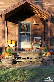 how to decorate a fall porch for under 40 creative cain cabin