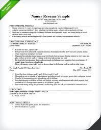 resume word doc download sle resume word doc format resume sle nanny resume format in