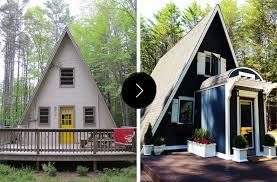 a frame home designs before after an a frame cottage gets an a renovation design