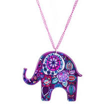 acrylic elephant ring holder images Shop indian elephant necklace on wanelo jpg