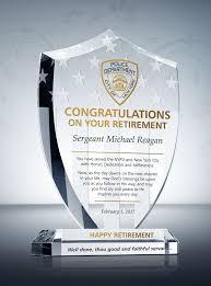 retirement plaque shield retirement plaque diy awards