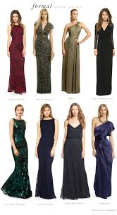 evening wear dresses for weddings minus the heels i d wear any of these to a black tie event