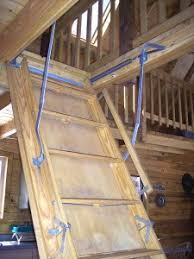 loft ladder attic stairs pull down compact living ideas
