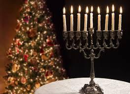hanukkah lights decorations what it s like celebrating hanukkah and christmas