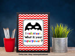 printable volunteer gift idea i volunteer whats your