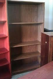 Bookcase Mahogany Used Oak 4 Shelf 32