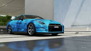 nissan gtr black edition blue forza 6 2012 nissan gt r black edition r35 drift build youtube