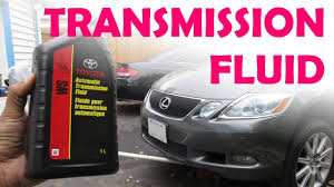 toyota lexus sealed ws transmission fluid change youtube