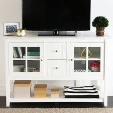 Modern White Tv Table Stand White Tv Console Table Attractive On Modern Home Decoration In