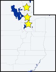 Map Of Logan Utah by Cyberinformatics