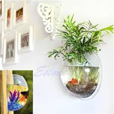 Home Plant Decor by Amazon Com Vktech Plant Wall Hanging Mount Bubble Aquarium Bowl