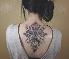 Tattoo Ideas For Back Of Neck Floral Back Neck Tattoos Ink Pinterest Tattoo Tatto And