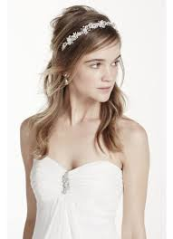 flower hairband floral headband david s bridal