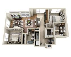 Floorplanes Floor Plans And Pricing For The Olivian Seattle Wa
