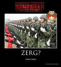 Zerg Rush Meme - rotr memes and joke pics swr productions forum