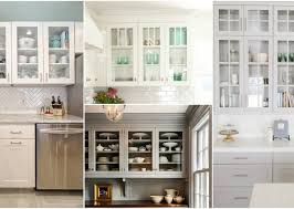 glass kitchen cabinets ideas how to style your glass front kitchen cabinets in a fabulous way