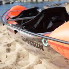 driftsun transparent clear kayak 3 gadgetking com