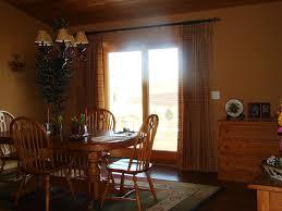 kitchen sliding door curtain sliding glass door window