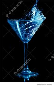 martini black alcoholic beverages martini splash stock picture i1828999 at