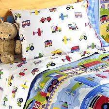 Duvet Covers Kids Breton Quilt Cover Sets Blue Cotton Jersey Childrens Double Bed