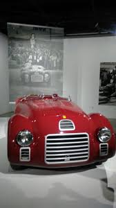 ferrari 125 s the petersen automotive museum opens with u201cseeing red 70 years of