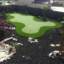 Backyard Putting Green Designs by 23 Best Backyard Putting Green Images On Pinterest Backyard