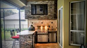 creative outdoor kitchens granite and stonework outdoor kitchen