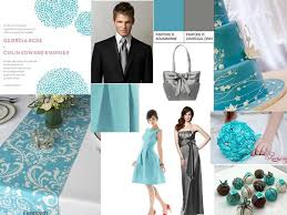aquamarine wedding aquamarine and charcoal gray pantone wedding styleboard the