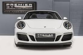 porsche 2017 white used 2017 porsche 911 carrera 991 targa 4 gts pdk for sale in