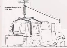 lifted jeep drawing amazon com jeep wrangler hardtop hoist hardtop removal system