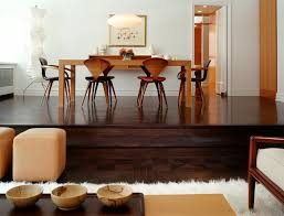 what goes with dark wood floors