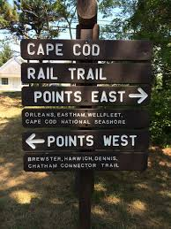 file cape cod rail trail sign at nickerson park jpg wikimedia