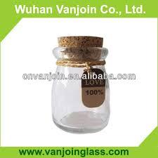 Heart Shaped Vase With Cork 100ml Glass Bottle With Cork 100ml Glass Bottle With Cork