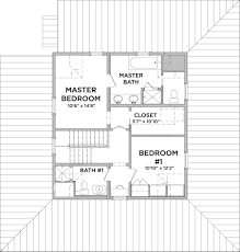 master bedroom with bathroom plan
